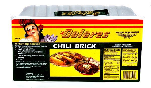 Brick chili